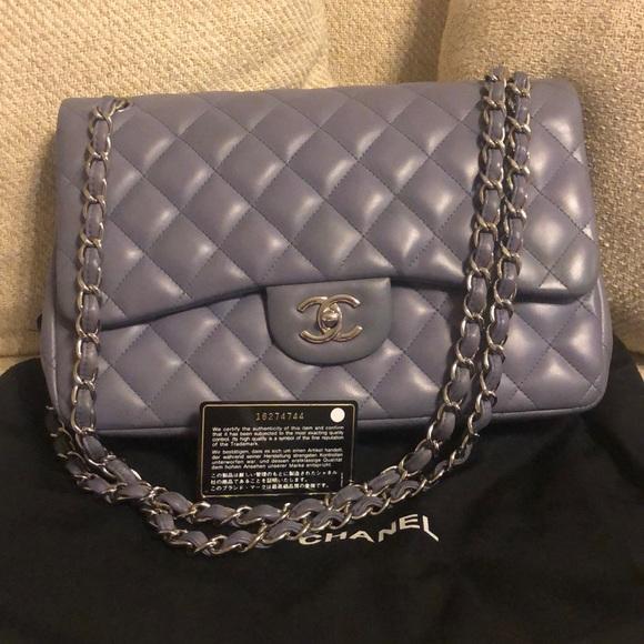 2b38e388c0e0ca CHANEL Bags | Classic Jumbo Lambskin Double Flap Bag | Poshmark